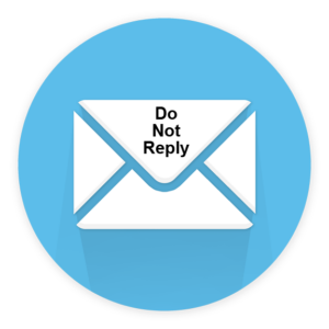 no-reply email